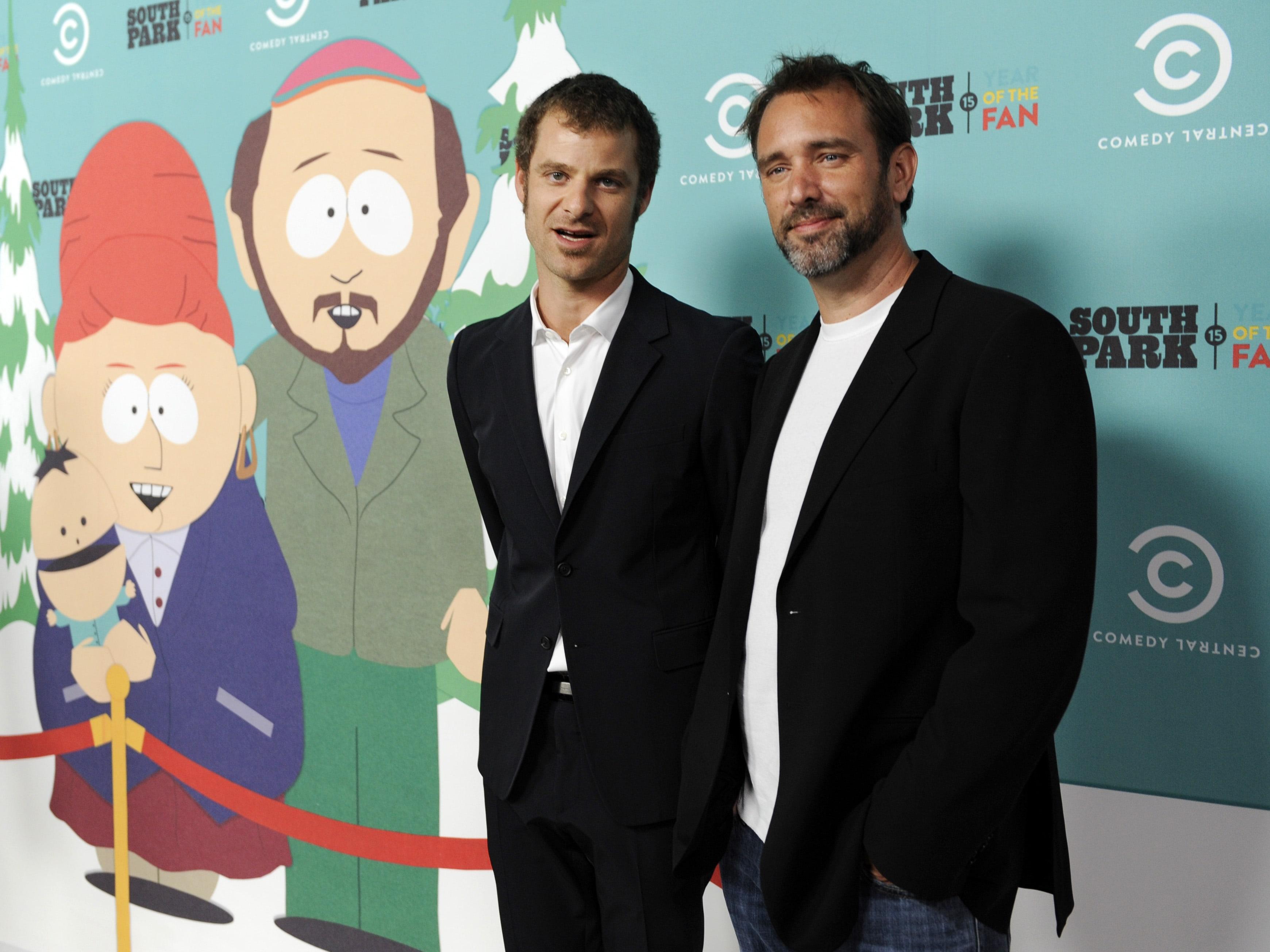 South Park, Parker, Stone, Políticos