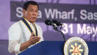 Presidente de Filipinas, Rodrigo Duterte, discurso, Armada Filipina, ciudad de Davao