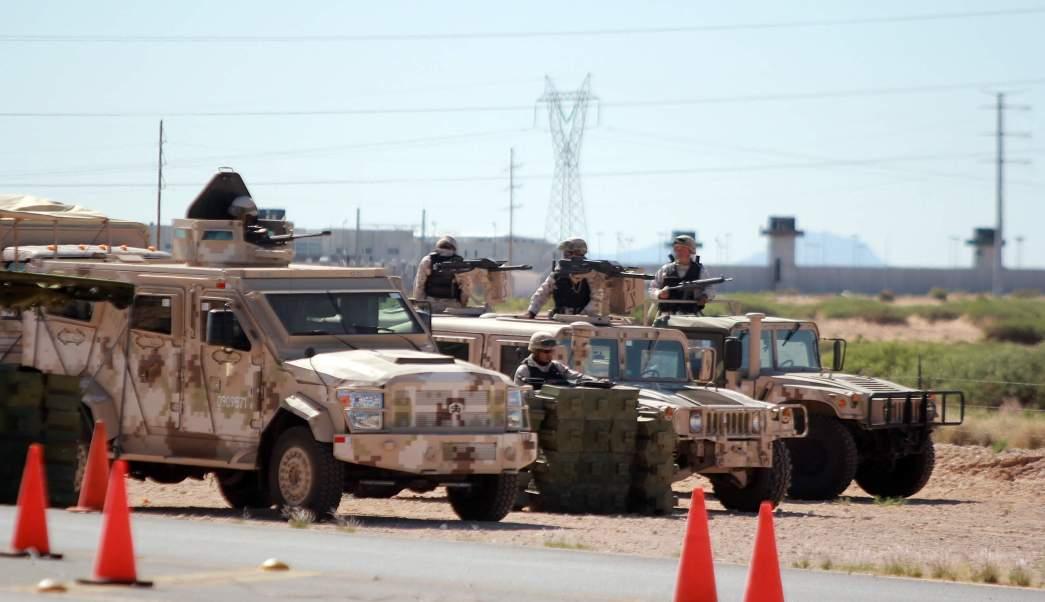Cefereso 9 Norte en Ciudad Juárez, Chihuahua. (AP, archivo)