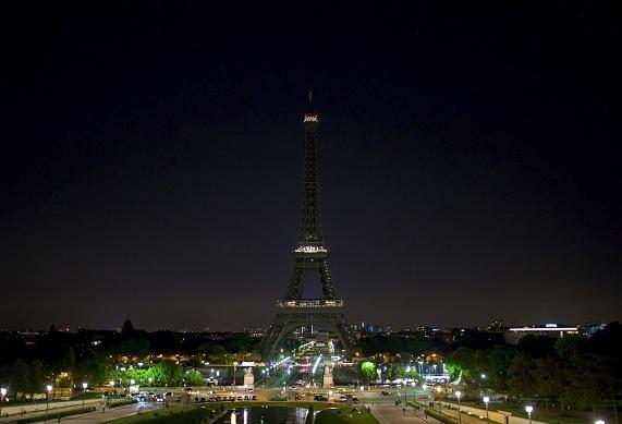 Torre Eiffel, Manchester, terrorismo, solidaridad, Francia, homenaje,