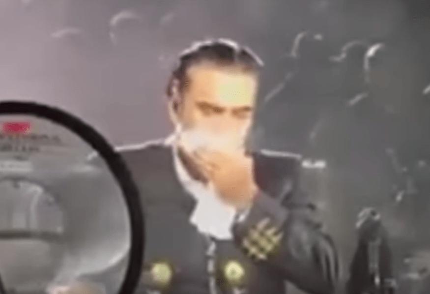 Alejandro Fernández, vomito, nauseas, concierto, Palenque, Puebla