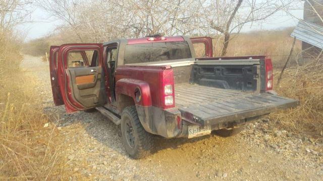 Las armas se encontraban en el interior de un vehículo tipo Hummer (Corresponsales nacionales)
