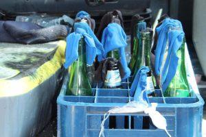 Artefactos explosivos decomisados en Chiapas. (Gobierno de Chiapas)