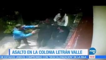 asalto, Letrán Valle, CDMX, robo con violencia, seguridad, sucursal bancaria
