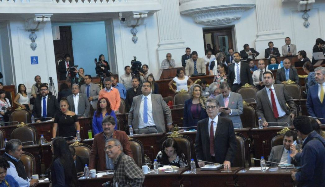 Asamblea legislativa, Cdmx, Dictamen de ley, Ley electoral, Diputados, Noticias