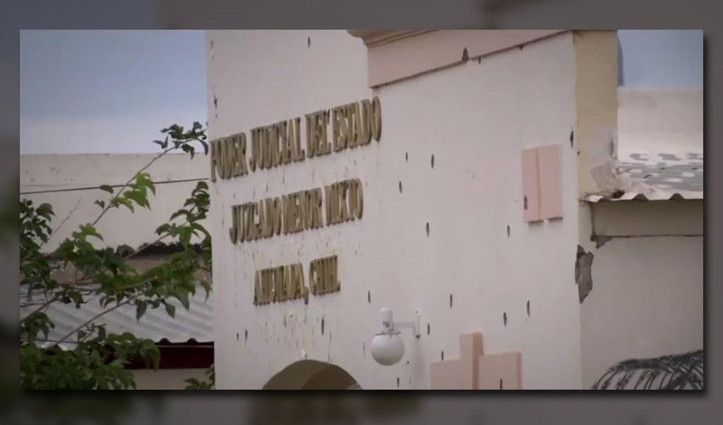 Agresion contra instalaciones de la fiscalia de chihuahua