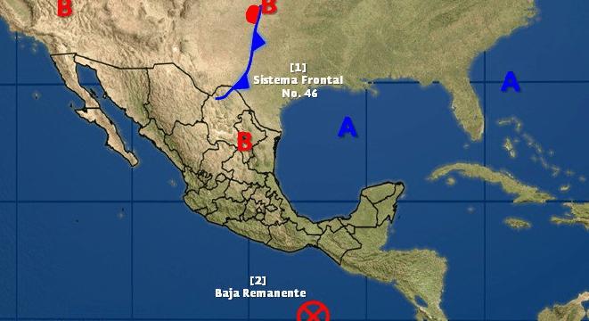 Baja remanente en el Pacífico mexicano
