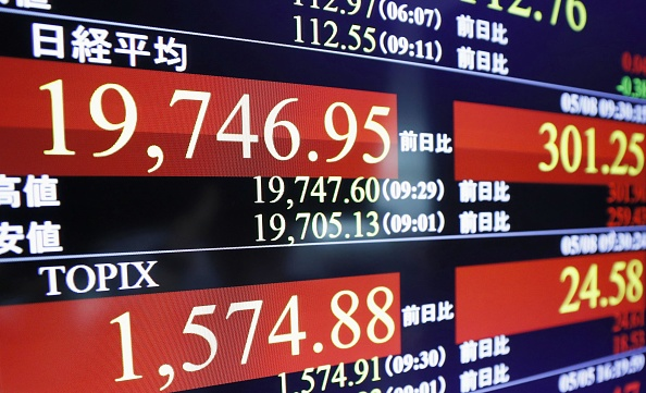 Bolsa de Tokio se acerca a las 20000 unidades