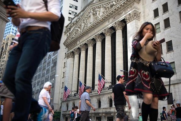 edificio de la bolsa de valores de nueva york