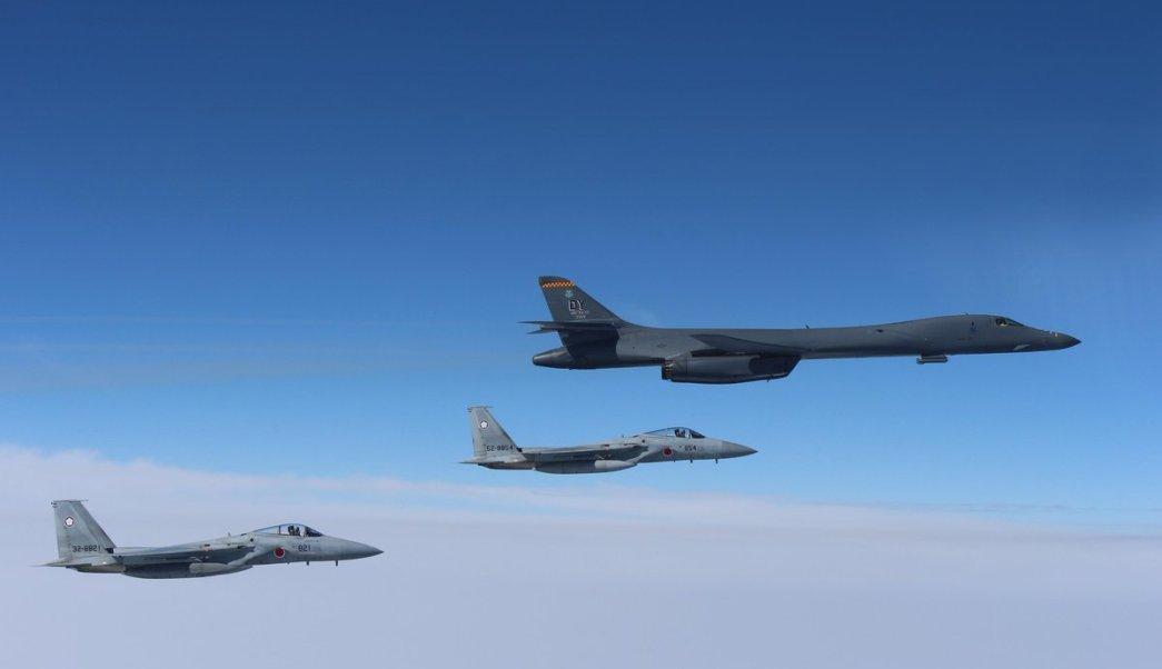 Corea del norte, estados unidos, bombarderos, corea del sur, guerra, ejército
