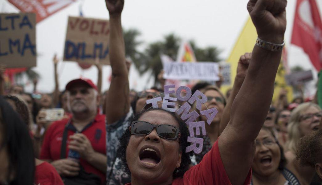 Temer, Rio, Brasil, Marchas, Artistas, Noticias