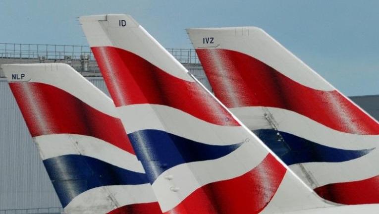 Aeronaves de British Airways en el aeropuerto de Heathrow en Londres (Reuters)