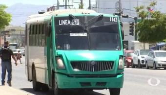 calor, camiones, transporte publico, aire acondicionado, sanciones, unidades
