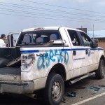 Camioneta con sellos gubernamentales de Venezuela atropella a estudiante en protesta