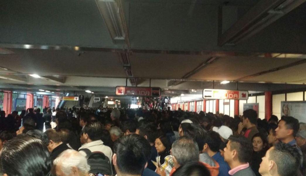 Metro, caos, trabajadores, sindicato, jorge gaviño, lider sindical