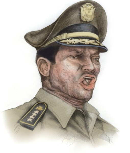Manuel Antonio Noriega, el último dictador militar de Panamá (Getty Images)
