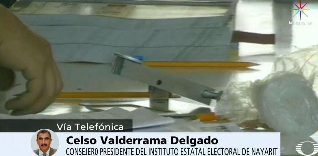 Celso Valderrama, consejero presidente del Instituto Electoral de Nayartit,