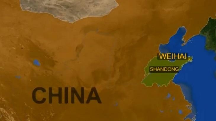 La ciudad china de Weihai, en la provincia de Shandong (Reuters)