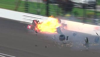 Choque, carrera, piloto, piloto sebastien bourdais, velocidad, 372 km/h