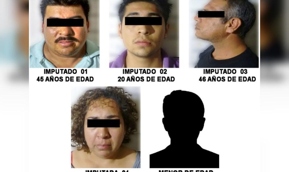 Detienen a 5 personas en la colonia Guerrero