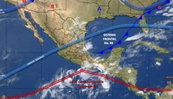 El SMN pronostica cielo nublado la mayor parte del día en el Valle de México (Twitter @conagua_clima)