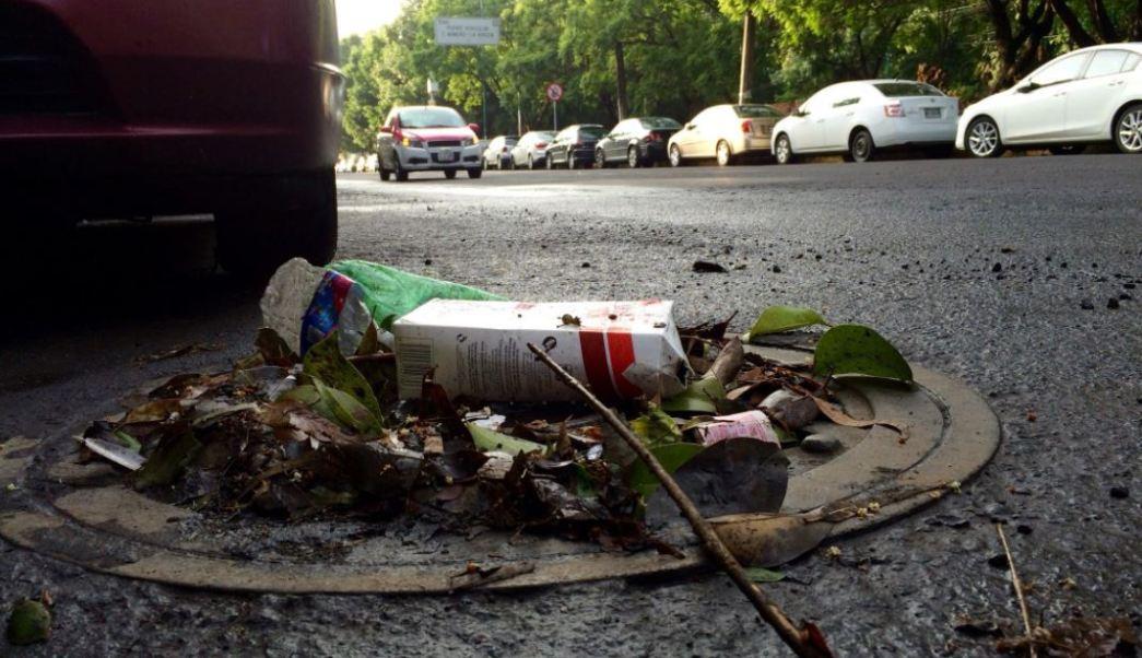 Lluvias, drenaje, inundaciones, ciudad de mexico, basura, desazolve