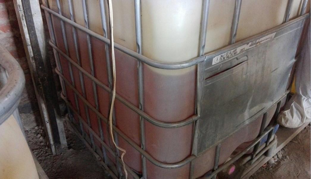Contenedor con hidrocarburo es asegurado