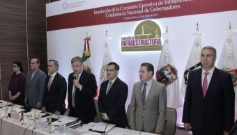 Comisión Nacional de Gobernadores, Ciudad de México, conago, Comisión de Infraestructura