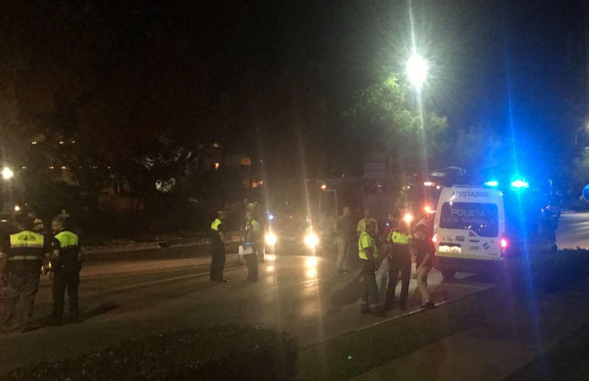 Conductor ebrio atropella a varias personas en Marbella — España