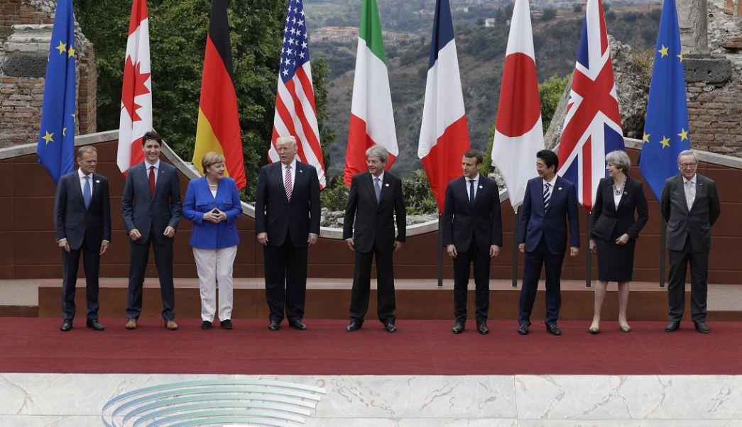Cumbre del G7, Inauguran Cumbre del G7, mandatarios, Taormina, Italia, cumbre anual