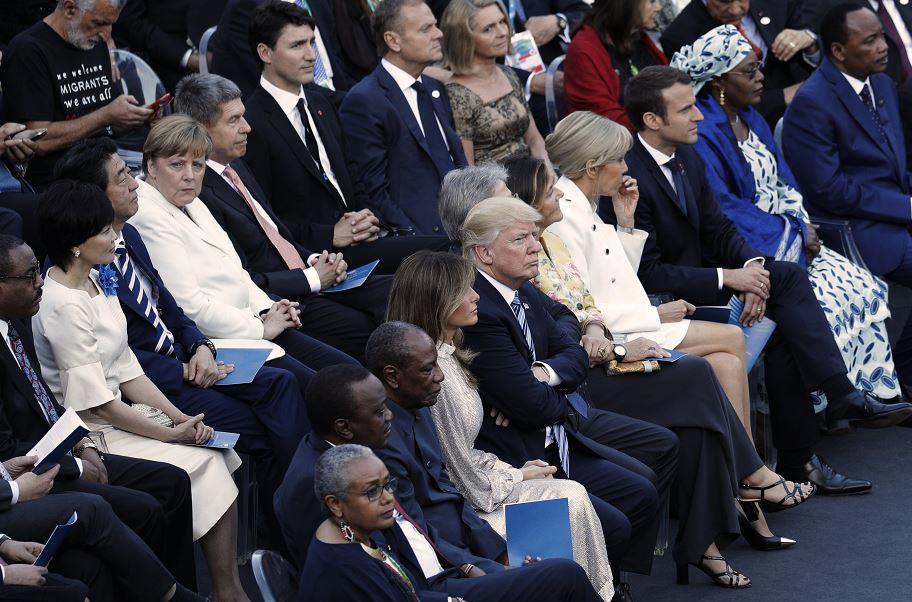 Líderes G7, concierto, Teatro Antiguo, Taormina, Italia