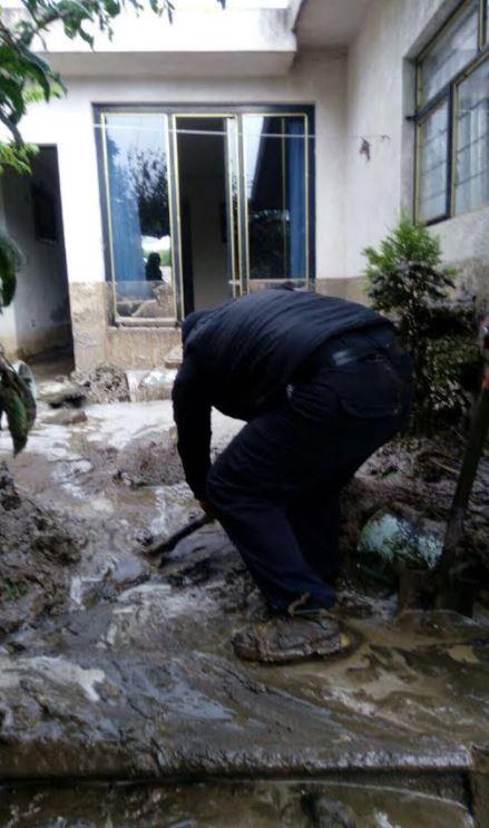 Lluvia, puebla, daños, casas, viviendas, granizo