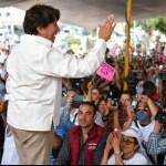 Delfina Gomez, candidata de Morena, inició con los cierres regionales