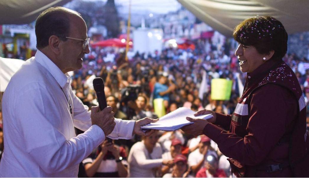 delfina gomez candidata al gobierno del edomex