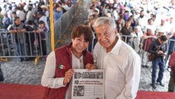 Delfina Gómez rechazó las nuevas acusaciones de sus adversarios