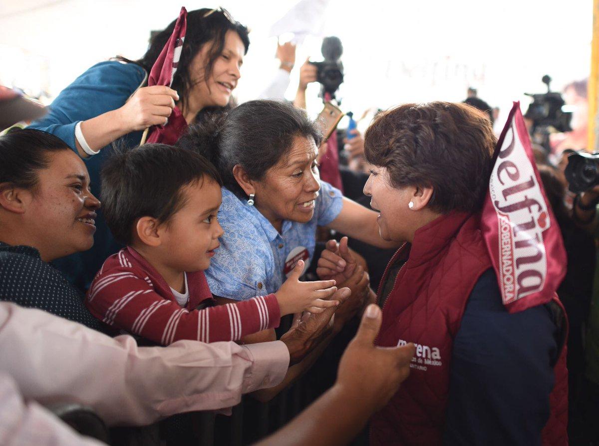 Delfina Gómez asignó 32 mdp a presidente municipal Higinio Martínez