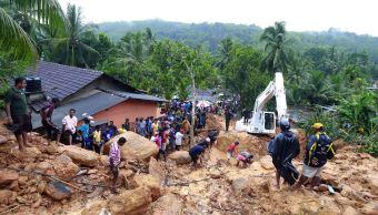 deslizamientos de tierra, inundaciones, Sri Lanka, alud, fuertes lluvias