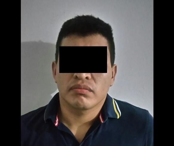 Ángel 'N' tenía una orden de aprehensión pendiente por el delito de feminicidio. (Twitter @GuillermoCinta)