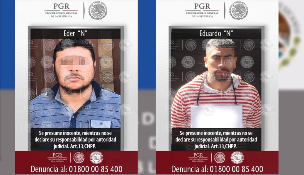 Los detenidos fueron entregados a la PGR (PGR)