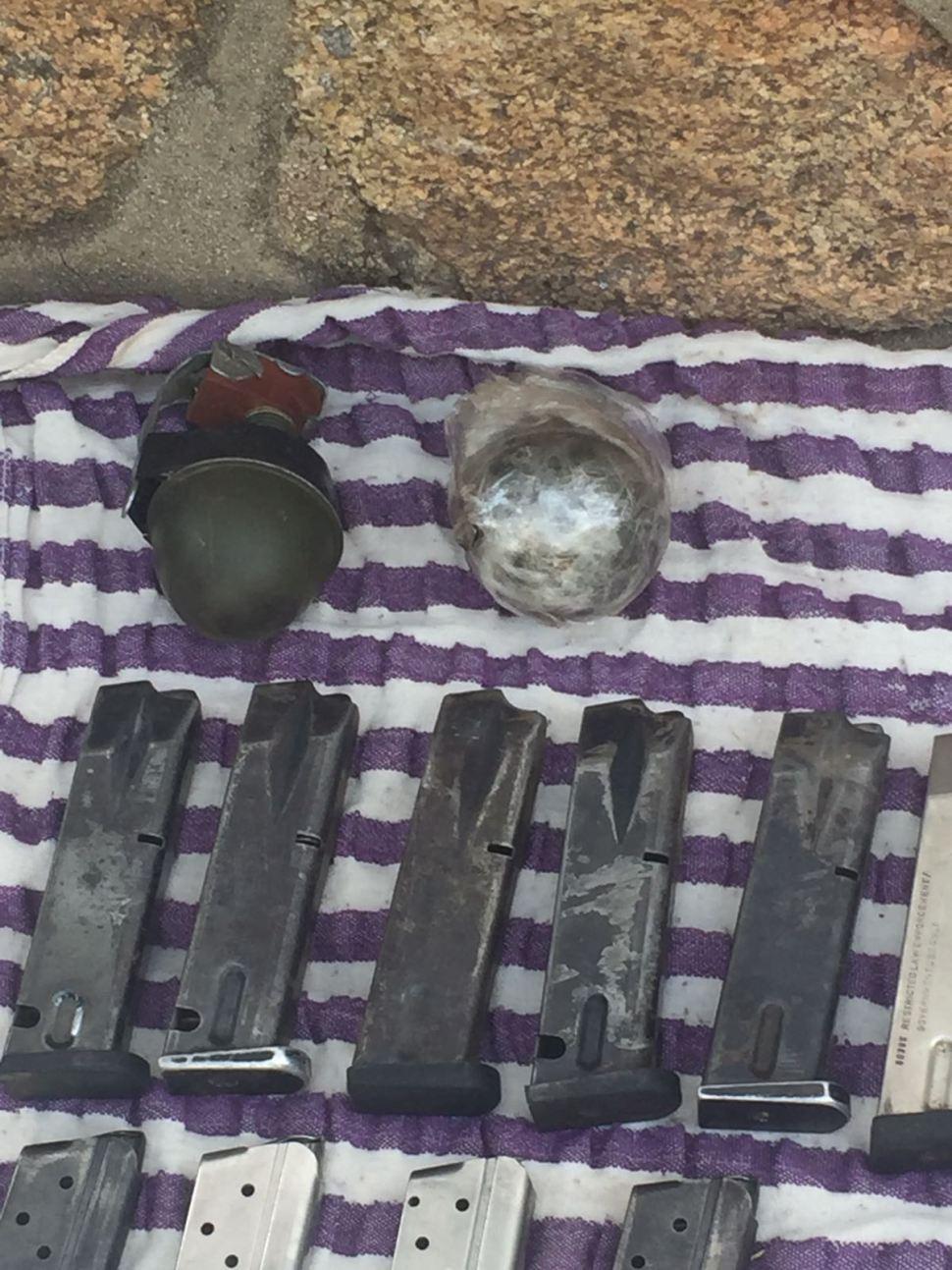 Detienen a 3 integrantes de Los Viagras y aseguran armas en San Miguel Totolapan