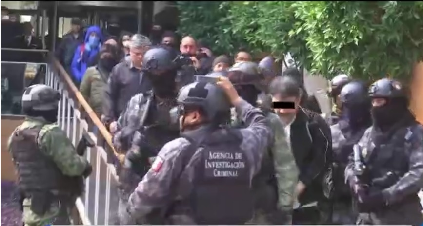 Damaso Lopez es detenido por fuerzas federales