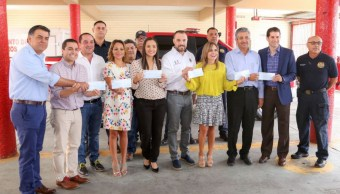 Congreso de Sonora dona ahorros en gasolina a bomberos de Hermosillo