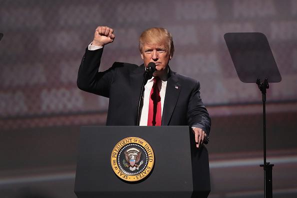 Donald Trump, presidente de Estados Unidos,