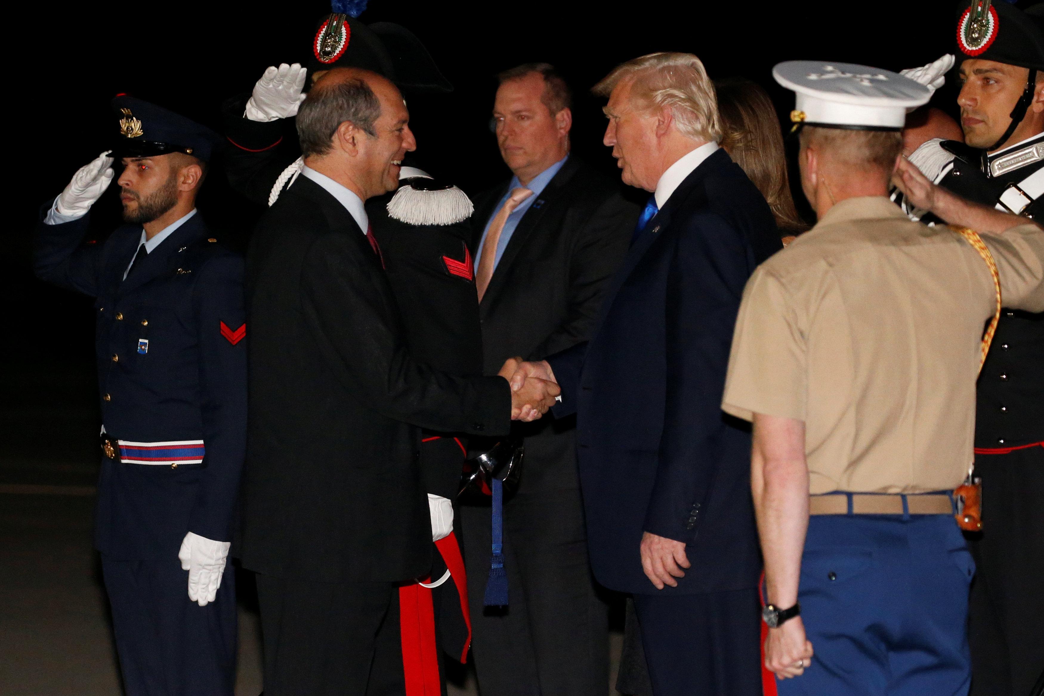 Los líderes del G7 inauguran oficialmente la cumbre de Taormina