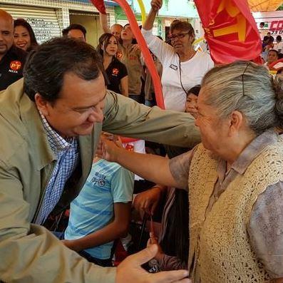 El candidato del Partido del Trabajo visitó Valle de Bravo