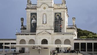 El santuario de la Virgen de Fatima en Portugal