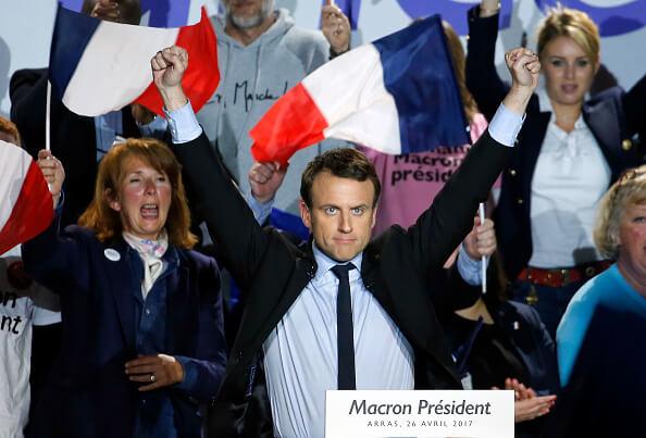 Obama expresa en video su apoyo para Emmanuel Macron