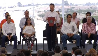 EPN inaugura obra crretera en Queretaro