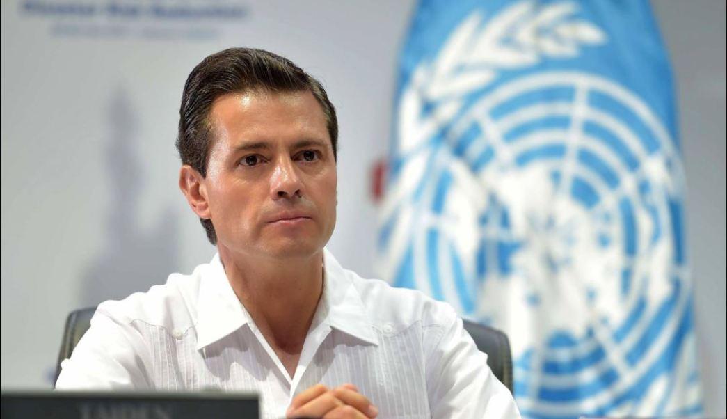Peña Nieto participa en conferencia sobre prevencion de desastres