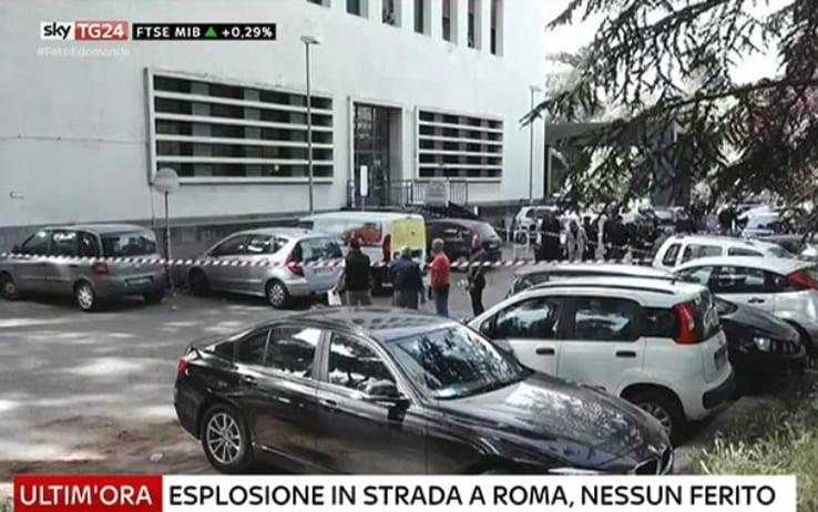 Italia, Roma, explosión, bomba, bomba casera, seguridad